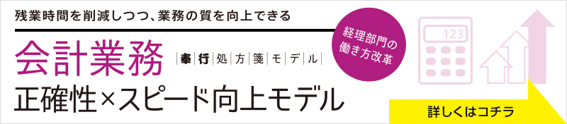奉行処方箋モデル「会計業務」PDF