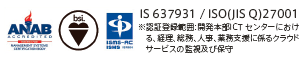IS 637931 / ISO(JIS Q)27001